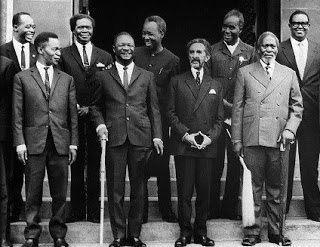 Some of the founding leaders of the OAU. (Source Steelpulse)