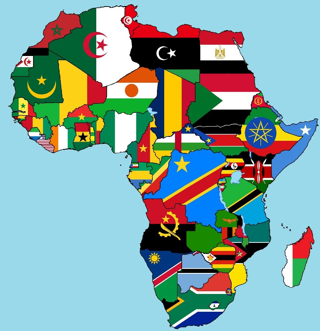 Will we ever retire Africas flags