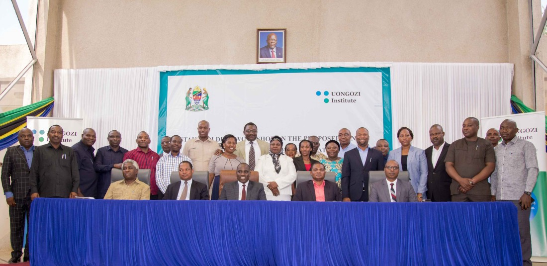 A group photo with some Local Government Authority Leaders
